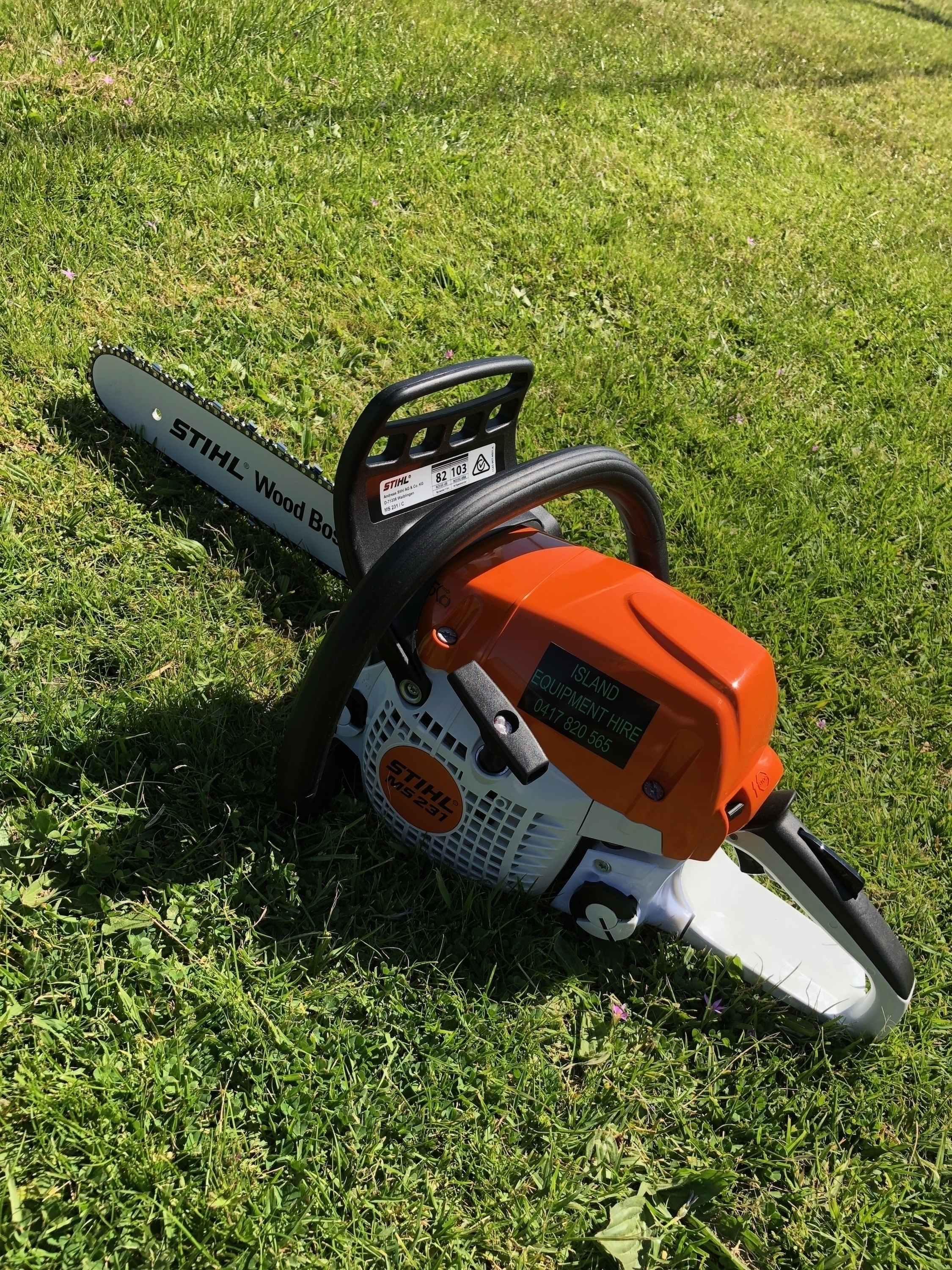 Chainsaw 16 uncovered