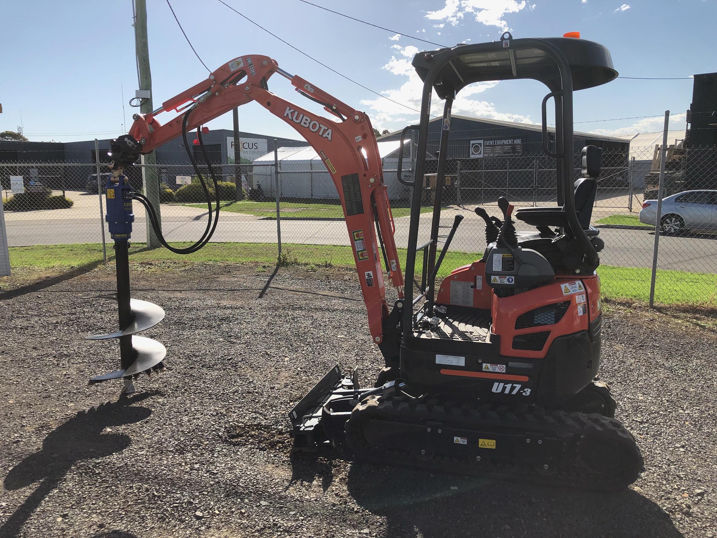 1.7 Tonne Excavator